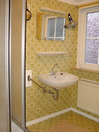 Wohnung 1 - Badezimmer 1